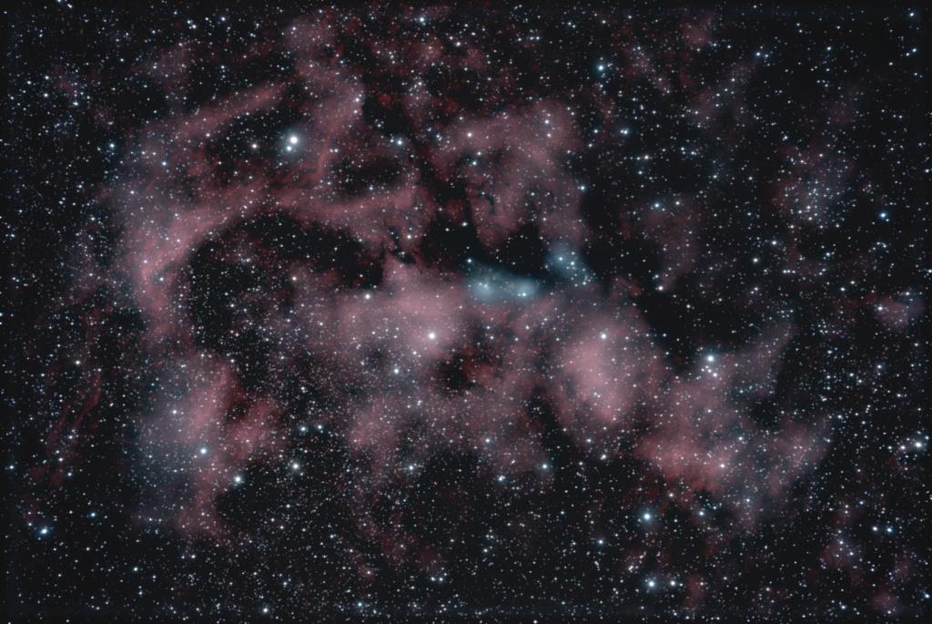 NGC6914 dans le Cygne Ngc69110