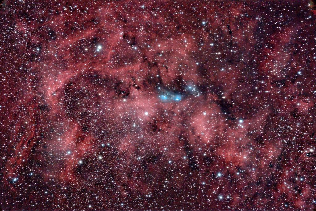 NGC6914 dans le Cygne Ngc69112