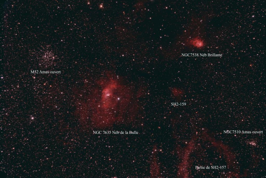 NGC7635 et ses copines Ngc76310