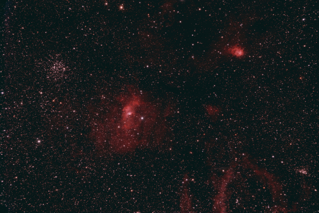 NGC7635 et ses copines Ngc76313