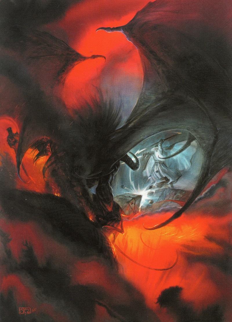 Les oeuvres de J. Howe et A. Lee, illustrateurs de Tolkien Img01310