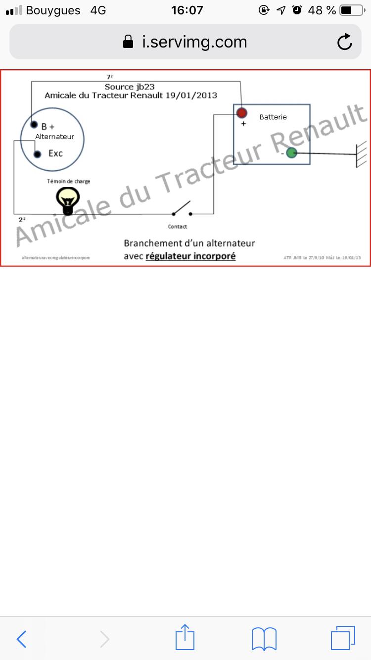 Installer un alternateur sur renault 56 855bf610