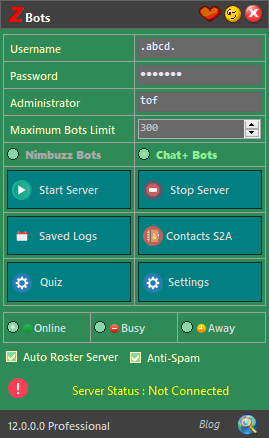 zBots version 12.0.0 New Updates | Latest Serverbot for Chat+ 111