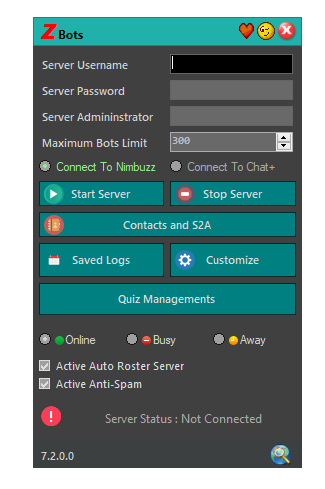 zBot 7.2 | AutoReply and Quiz Managements Added Captur22