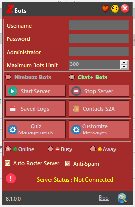 zBOTS version 8.1 Released | Patches Captur25