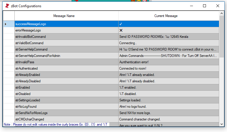 zBot version 7.0   Customized Server Bot For Nimbuzz And Chat+ Kkk10