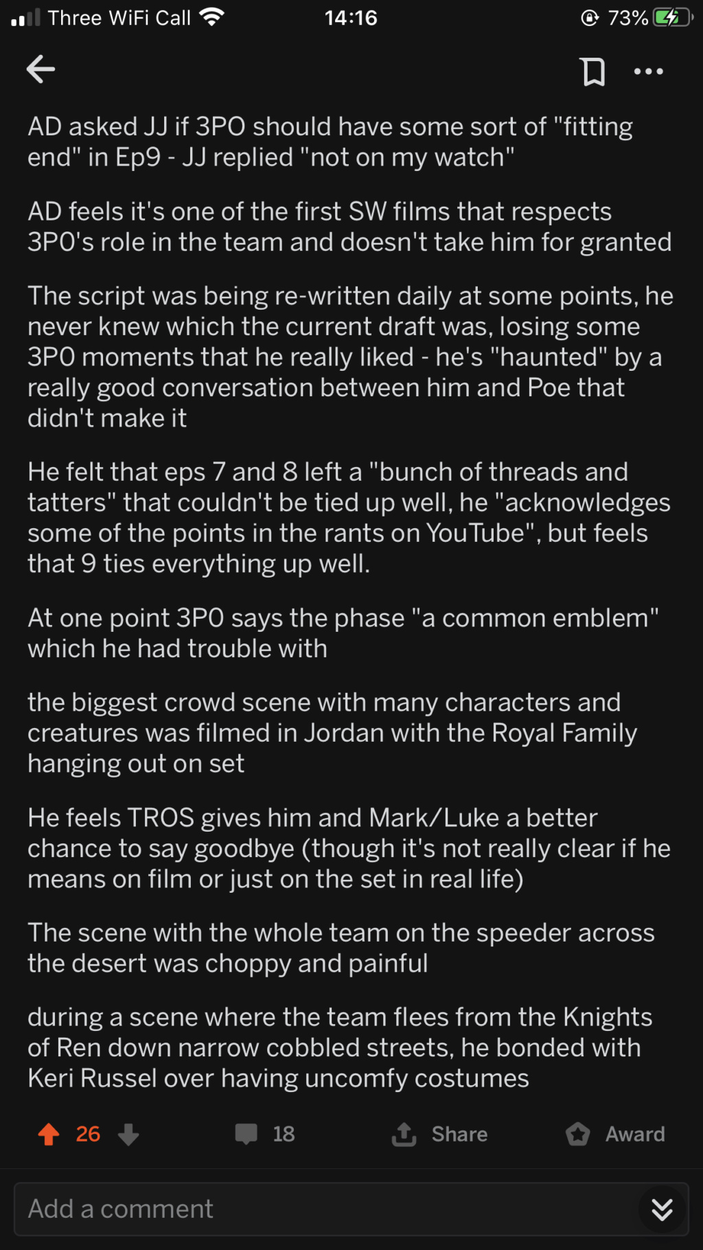 Episode IX: Spoilers and Rumors - Page 2 1503e910