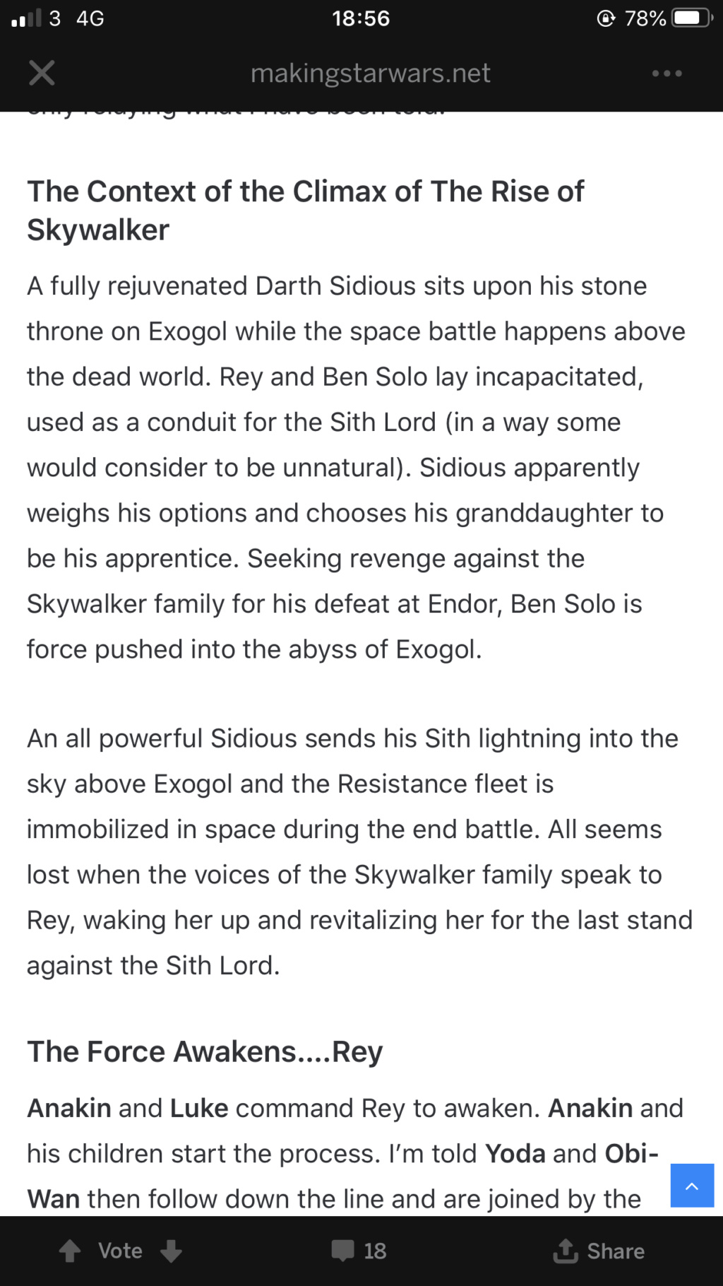 Episode IX: Spoilers and Rumors - Page 2 Bd5f2b10
