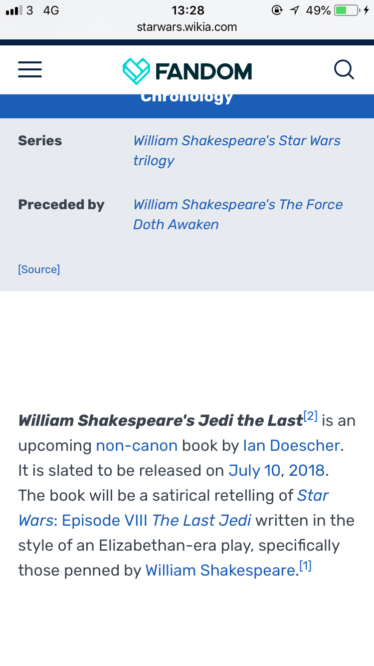 The Last Jedi and the Shakespeare Novelizations - Page 5 Fef9e810