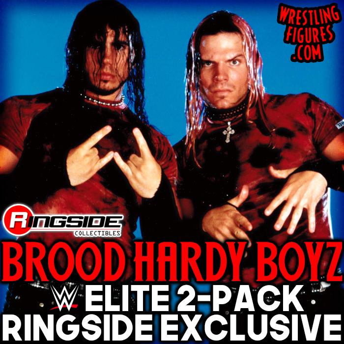 Brood Hardy Boyz Elite 2 Pack Ringside Exclusive (2019) Tr1308