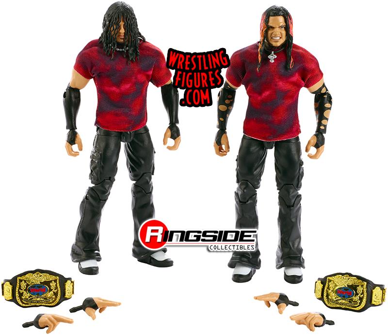 Brood Hardy Boyz Elite 2 Pack Ringside Exclusive (2019) Tr1309