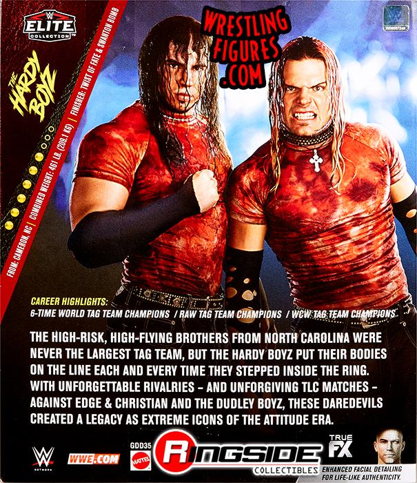 Brood Hardy Boyz Elite 2 Pack Ringside Exclusive (2019) Tr1313