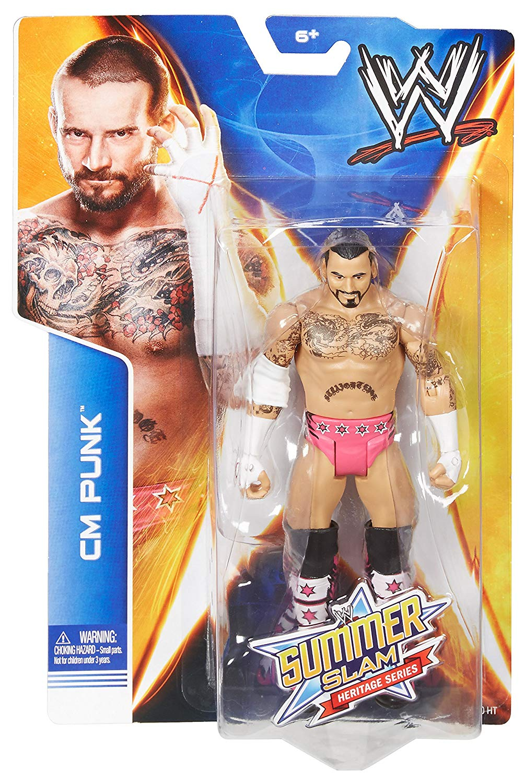 "WWE Basic Figures Serie ""SummerSlam 2014"" (2014) Tr329"