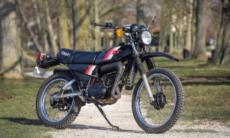 Les différents modèles de 125 DTMX Yamaha10