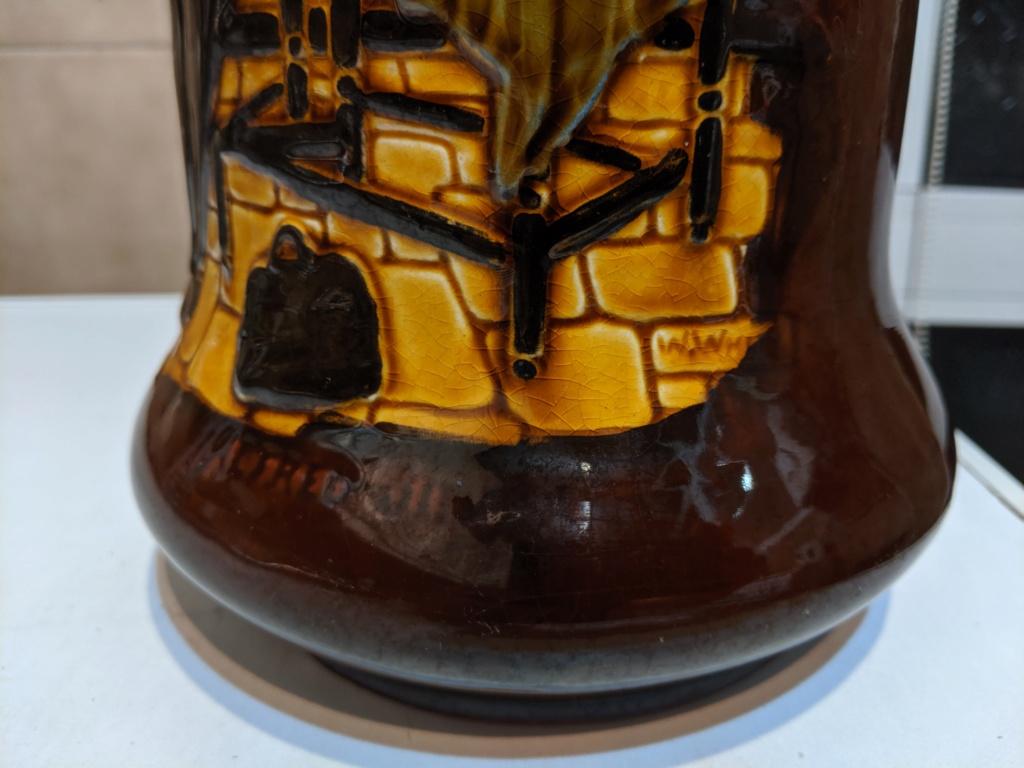 Royal Doulton Kingsware Style vase ID Img_2017