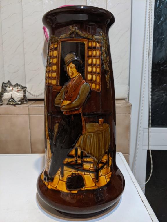 Royal Doulton Kingsware Style vase ID Img_2018