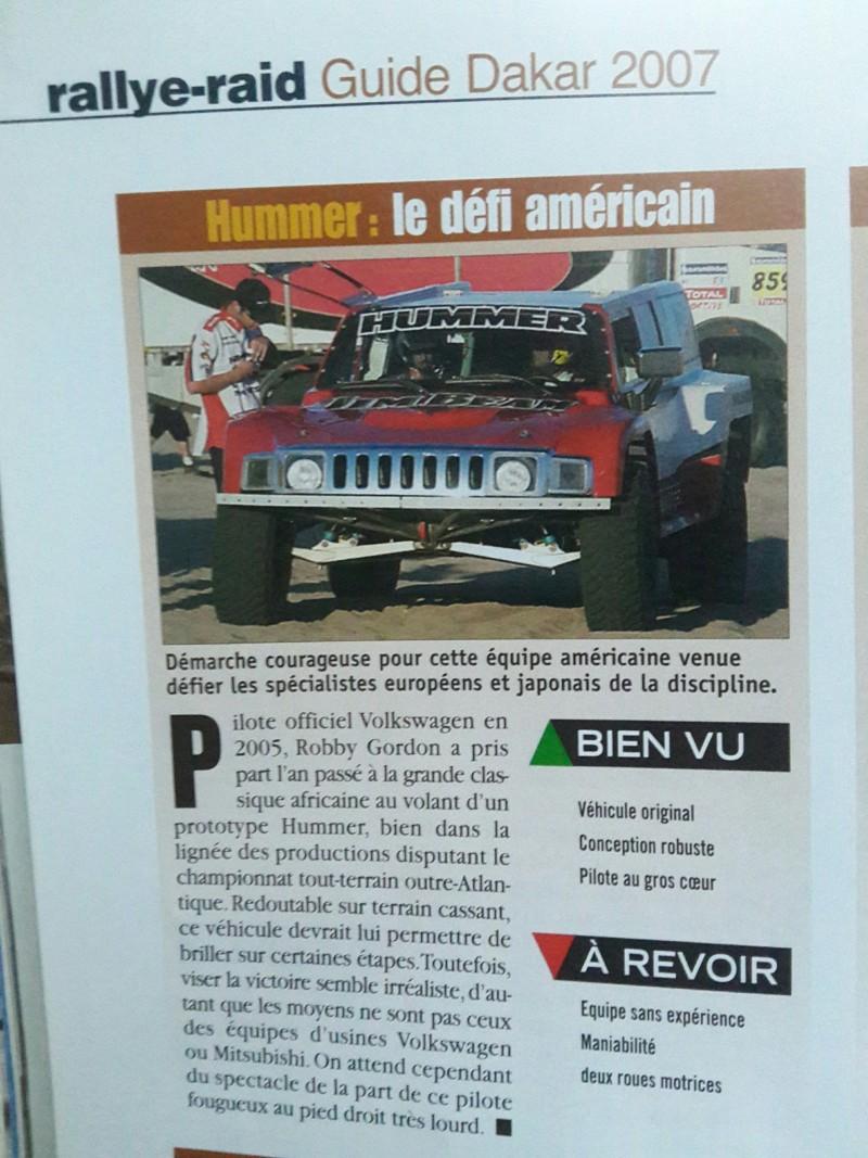 Faute de frappe Hummer ;  revue de 2007  ..sujet 4x4,et la je tombe sur une erreur de frappe 20180723