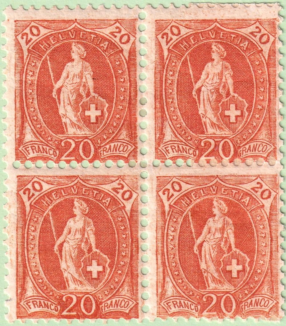 SBK 86A Stehende Helvetia 20Rp 86a_3710
