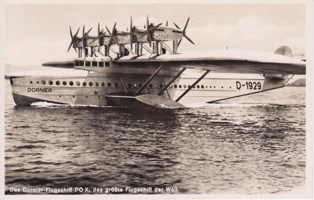 Do-X - Dornier Flugschiff Do-x10