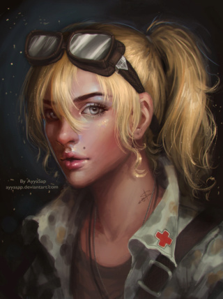 Character - Fey Heller Milita12