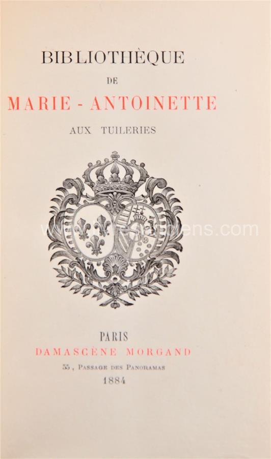 A vendre: livres sur Marie-Antoinette, ses proches et la Révolution - Page 7 30203410