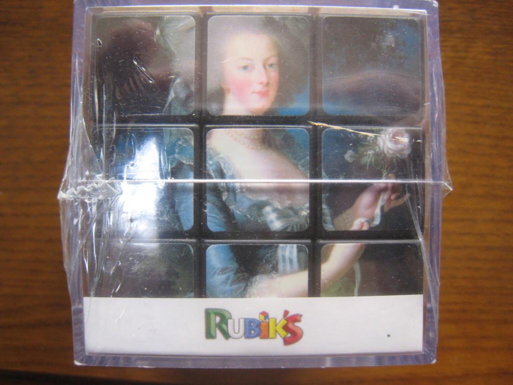 Marie-Antoinette Rubik's Cube S-l16012
