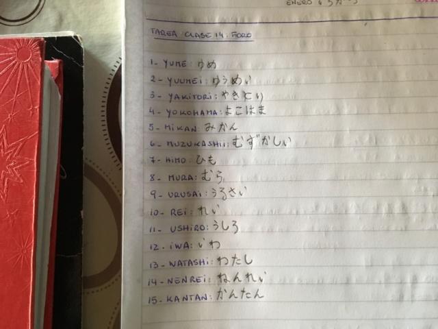 *CLASE 14* Hiragana filas M, R, Y, W, N (puedes ganar PS) Image27