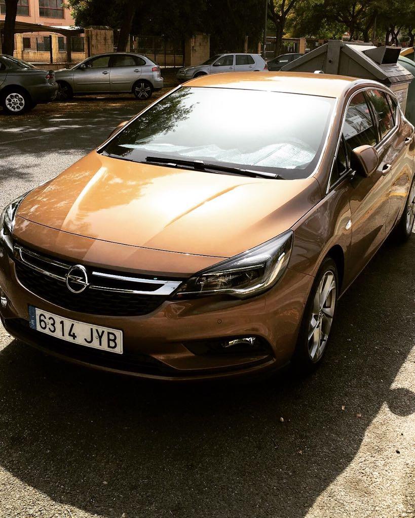 Carlos Barrera Opel Astra K 2017 1.6 110CV Diesel. Whatsa13