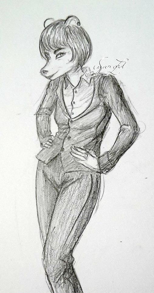 [Galerie] Elysha gribouille sur les murs Pavlov11