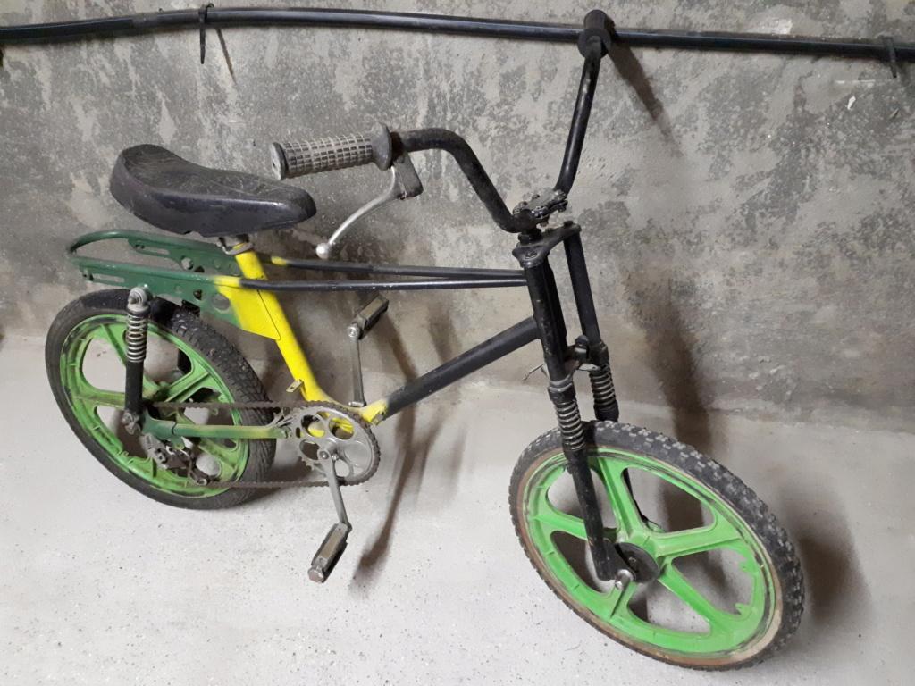 Vélo cross italien des années 70 20180810