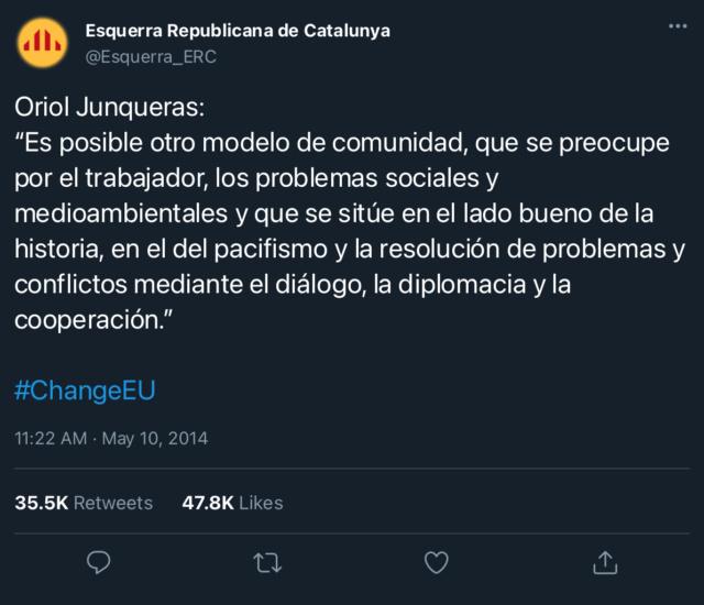 Esquerra Republicana de Catalunya | @Esquerra_ERC 03b0f810