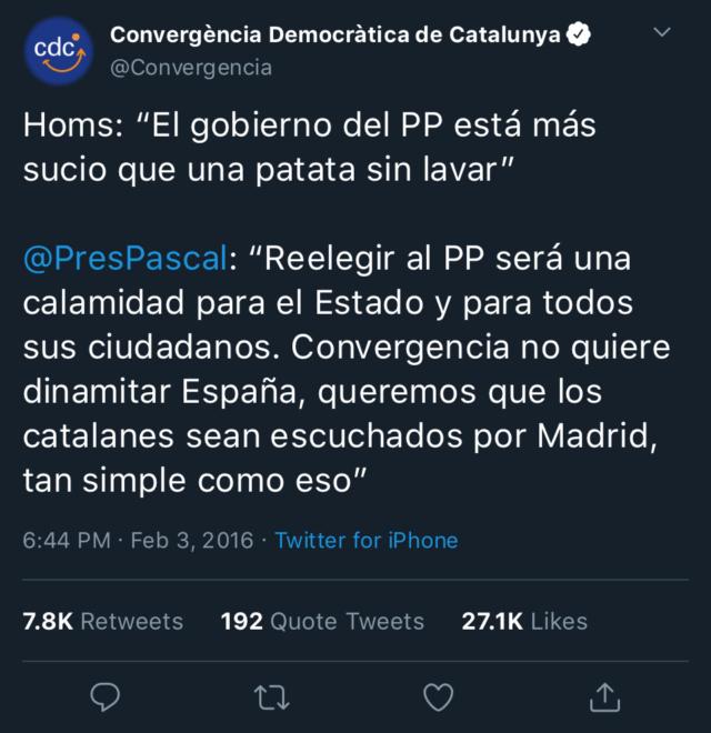 Convergencia Democràtica de Catalunya - @Convergència 1e61ad10