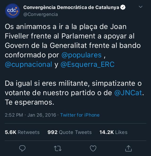 Convergencia Democràtica de Catalunya - @Convergència 1f93c510