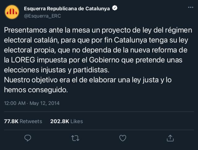 Esquerra Republicana de Catalunya | @Esquerra_ERC 3ccf9510