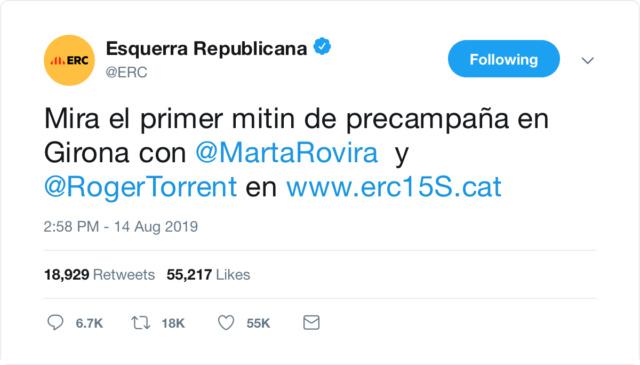 @Esquerra_ERC | Twitter oficial 61219110
