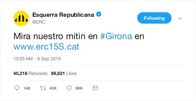 @Esquerra_ERC | Twitter oficial - Página 2 6243e910