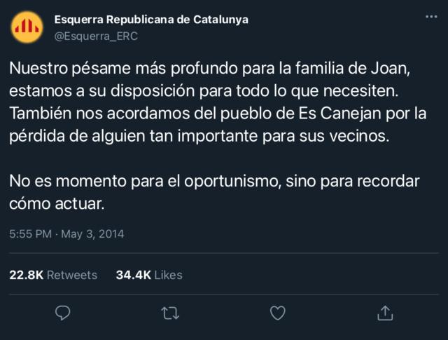 Esquerra Republicana de Catalunya | @Esquerra_ERC 67162010