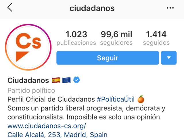 @Ciudadanos|Redes Sociales del partido y sus políticos  7d027910