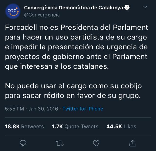 Convergencia Democràtica de Catalunya - @Convergència 88aedb10