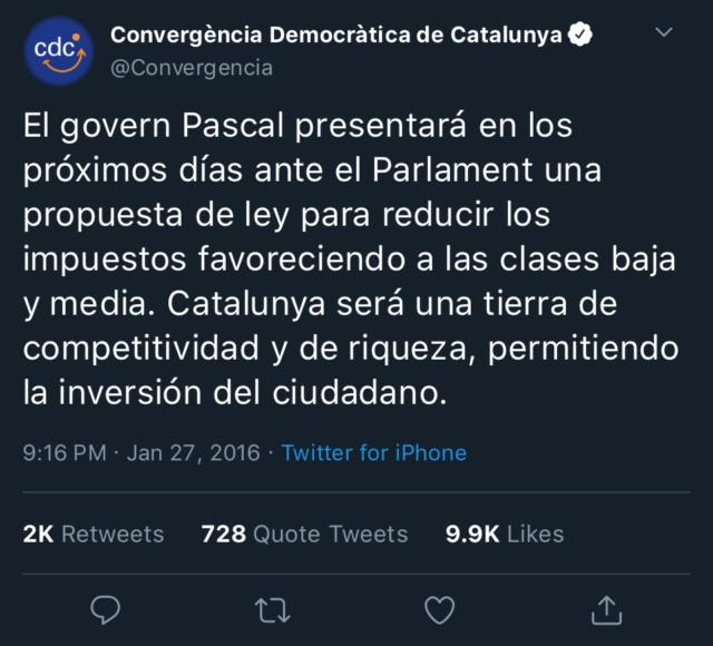 Convergencia Democràtica de Catalunya - @Convergència Ad555110