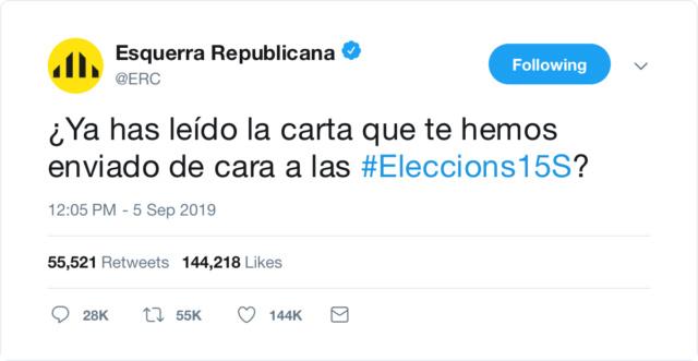 @Esquerra_ERC | Twitter oficial B406ea10