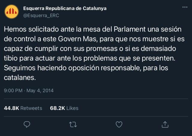 Esquerra Republicana de Catalunya | @Esquerra_ERC C95bd110