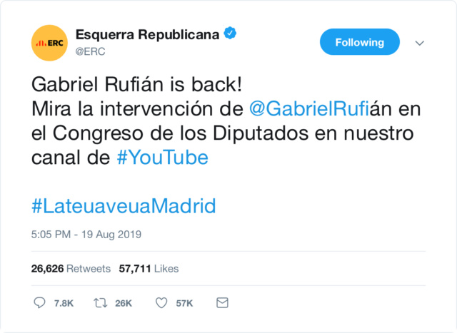 @Esquerra_ERC | Twitter oficial E713bf10