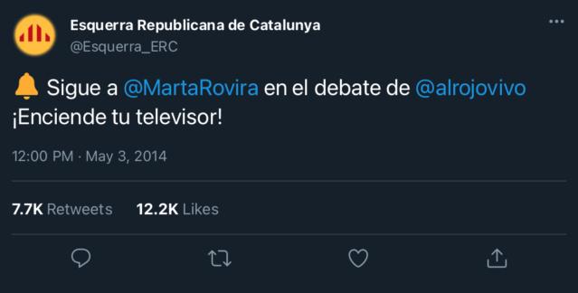 Esquerra Republicana de Catalunya | @Esquerra_ERC F0a3d410