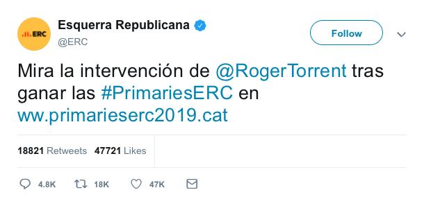 @Esquerra_ERC | Twitter oficial F5019910