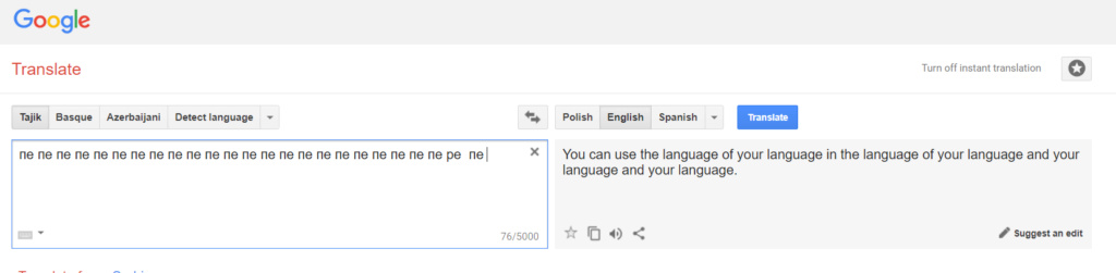 Hidden Algorithm in Google Translate Dafuq_10