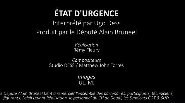 Éric DX  Clip tourné au Centre Hospitalier de Douai. Captur10
