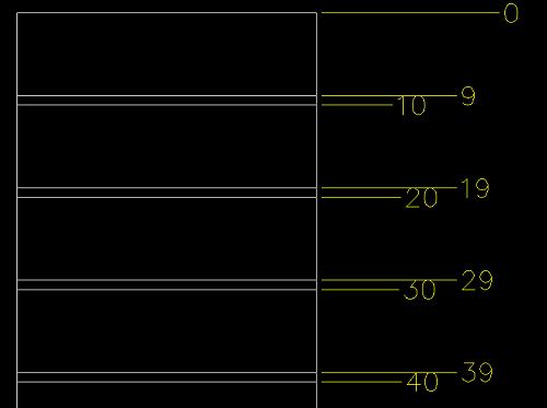 [討論]座標標註對齊_如何文字避讓 Snap211