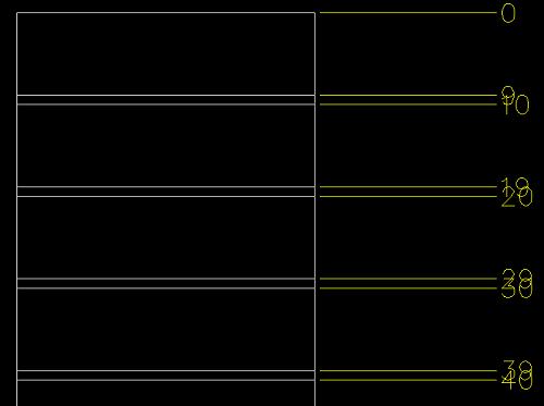 [討論]座標標註對齊_如何文字避讓 Snap310