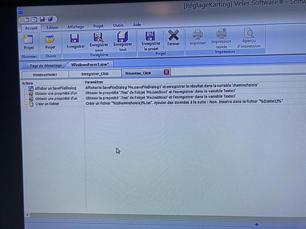 Cree un bouton «nouveau» sur softwareZator 3b8e7a10